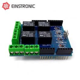 Arduino Uno 4-Channel Relay Shield v0.9b