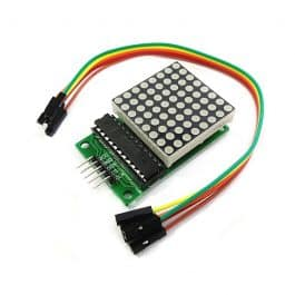 MAX7219 8×8 Dot Matrix LED Display Module