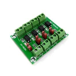 4-Channel 817 Optocoupler Module