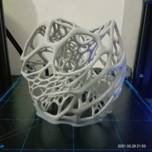 3D Printing Extreme Challenge – Cellular Lamp